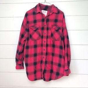MOSSIMO Oversized Flannel